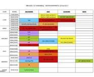 Entrainements 2016-2017